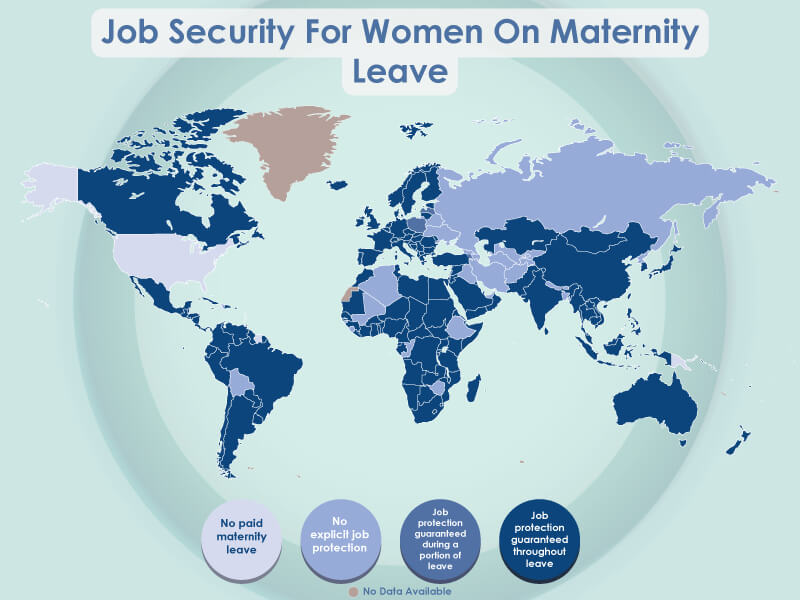 The best place in the world to be a parent image - job security for women