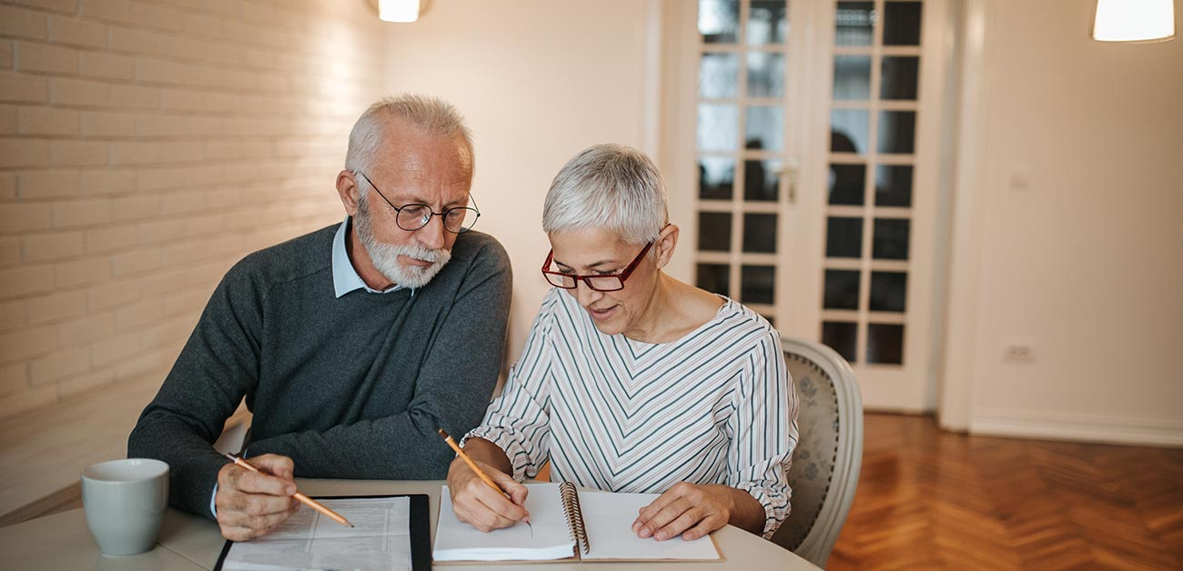 senior couple considering equity release image