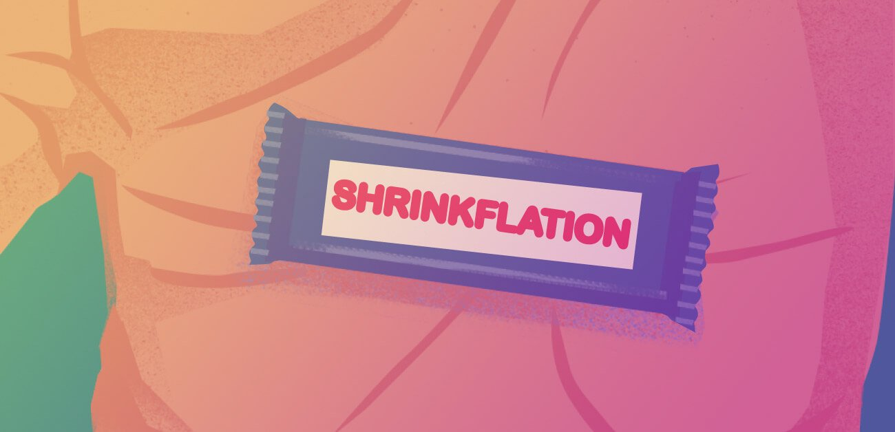 Shrinkflation infographic