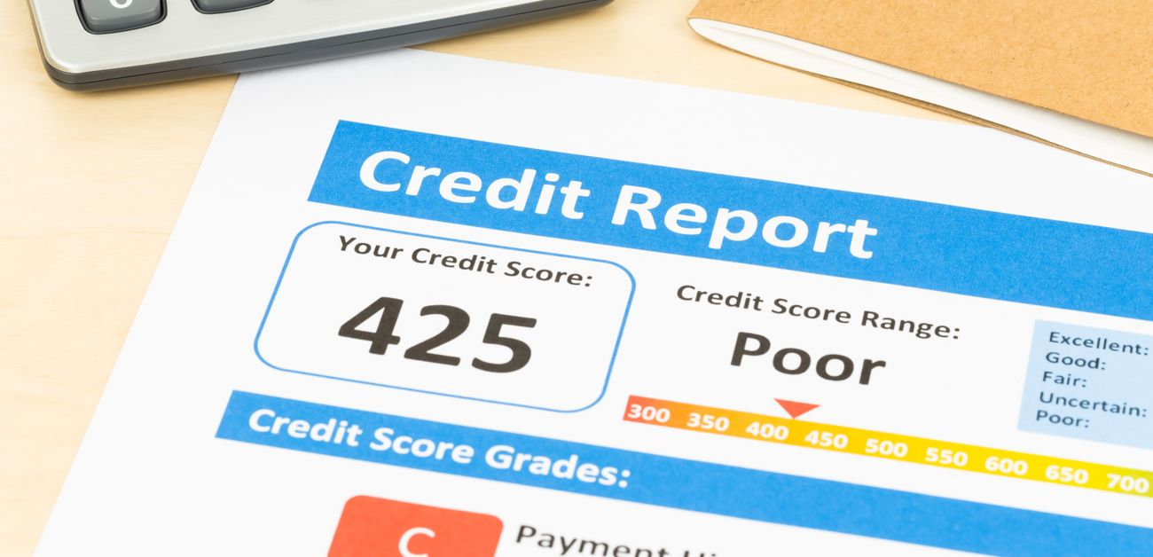 What is a bad credit score?