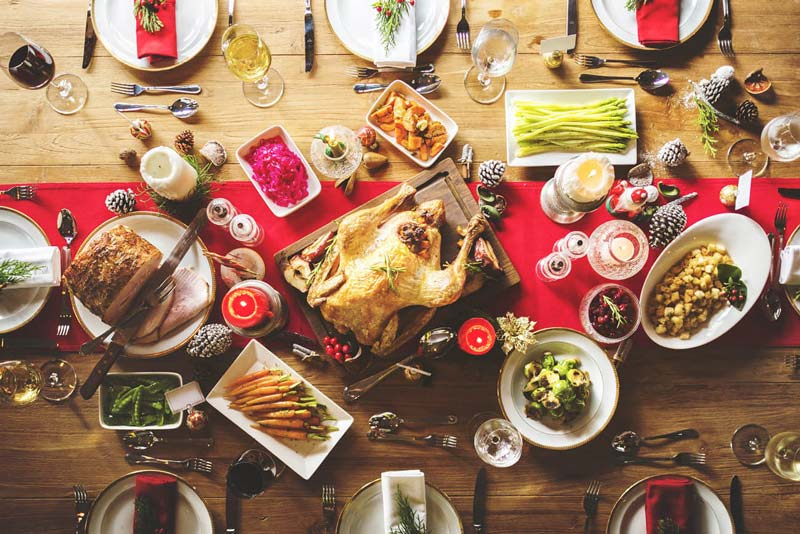 How to save money this Christmas - don't go overboard on the dinner!